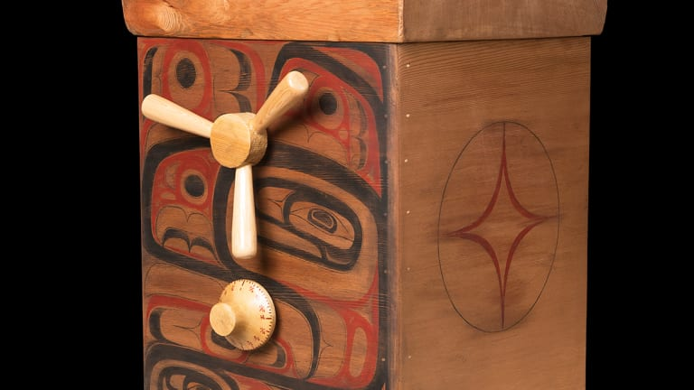 Sealaska Heritage Institute acquires bentwood box that challenges Native blood quantum rules