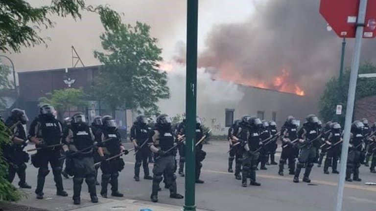 Fire during Minneapolis riots guts Native youth nonprofit