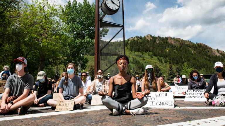 Peaceful protests get lost in coverage