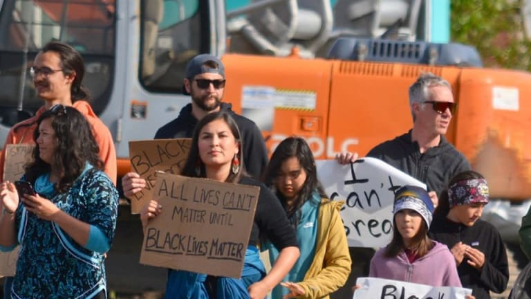 From Alaska to D.C., Natives march in solidarity