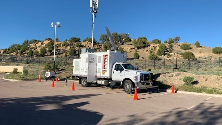 FirstNet deploys mobile cell sites supporting Navajo Nation COVID-19 response
