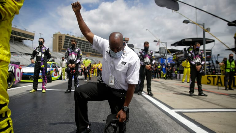 NASCAR bans Confederate flag from its races