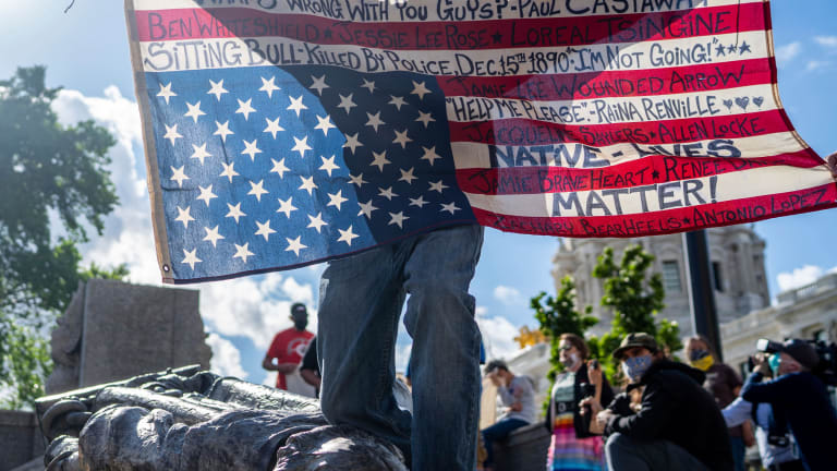 Statues coming down: 'If NASCAR can do away with Confederate flags ... our cities can do this'