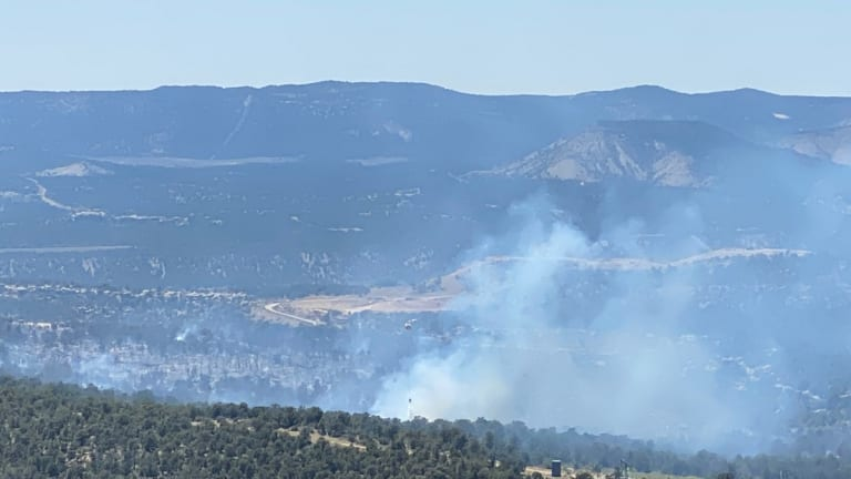 Crews make progress on Six Shooter Fire and hold fire to 220 acres