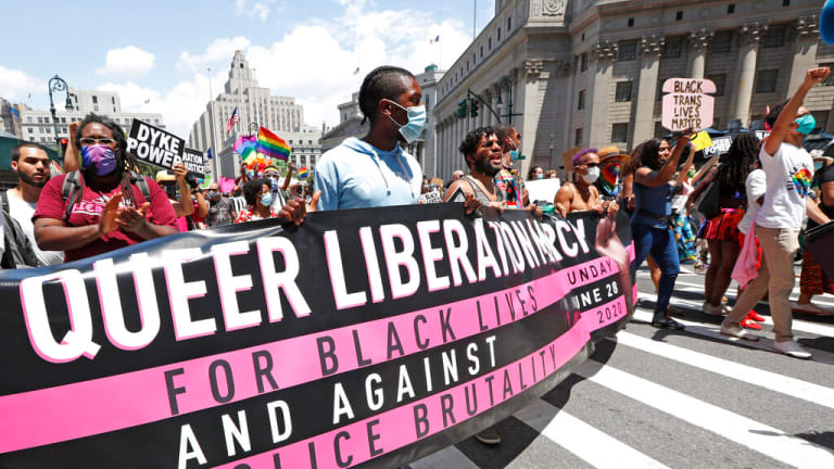 In NYC, marking 50th anniversary of Pride no matter what