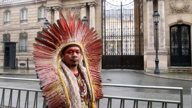 Indigenous leader: Save the Amazon