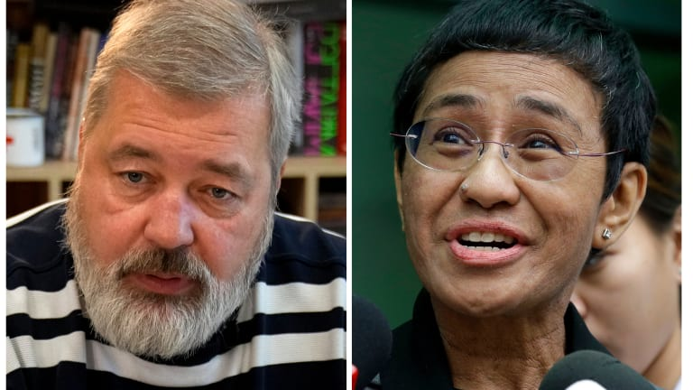Briefs: Journalists from Philippines, Russia given Nobel Peace Prize