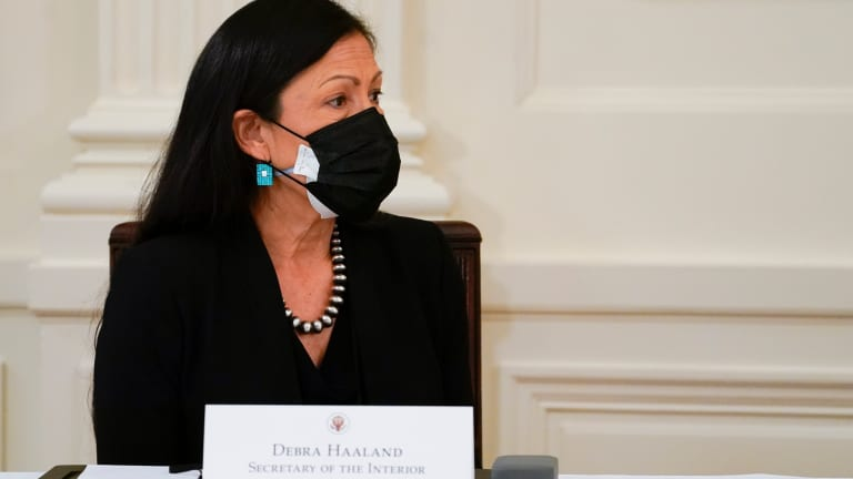 Deb Haaland revokes Donald Trump-era energy orders