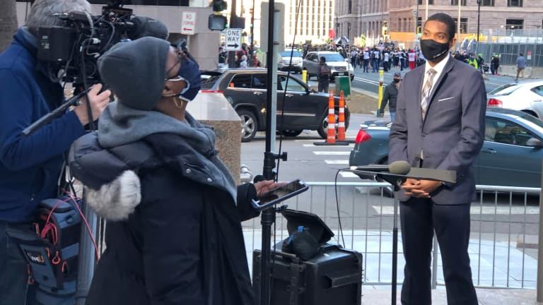 For Black journalists, working Chauvin trial drains emotions