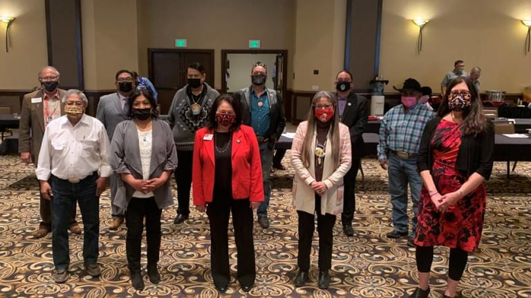 Columbia Basin tribes gather in support of Columbia Basin initiative proposed by U.S. Representative Simpson