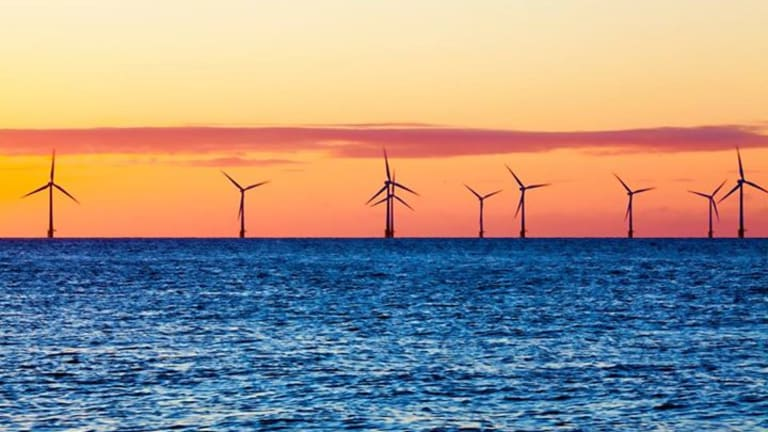 Big offshore wind farms