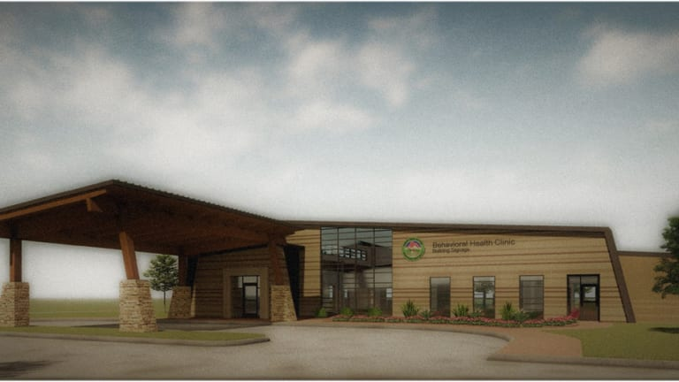 Muscogee (Creek) Nation Department of Health breaks ground on new behavioral health facility