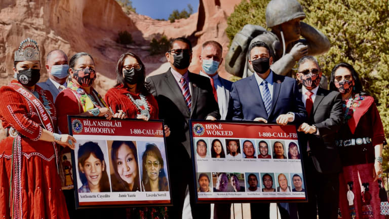 Navajo leaders recognize Missing and Murdered Indigenous Peoples Awareness Day in honor and remembrance of lost loved ones