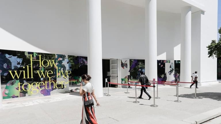 Biennale asks how we will live together
