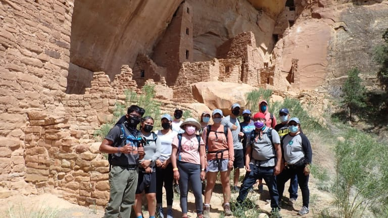 A journey of reconnection: Zuni youth experience adventure, understanding, and healing at Mesa Verde National Park