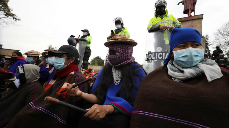 Report: Colombian police cause deaths of 20 protesters