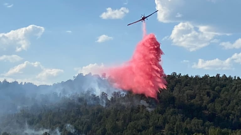 Suppression efforts continue on the Dry Gulch Area fire