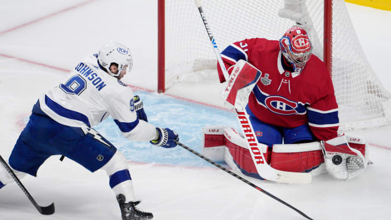 Canadiens beat Lightning in OT, avoid Stanley Cup sweep