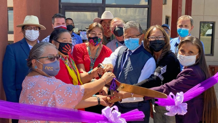 Historical partnership allows Gentle Ironhawk Shelter to resume operations under the Utah Navajo Health System