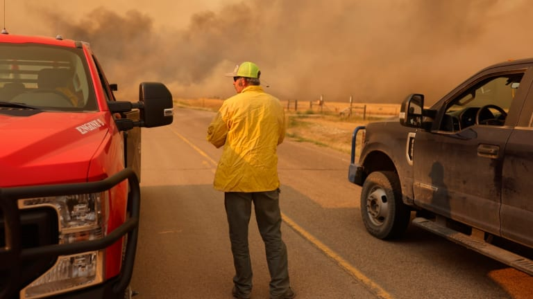 Forest Service maxed out as wildfires break across West