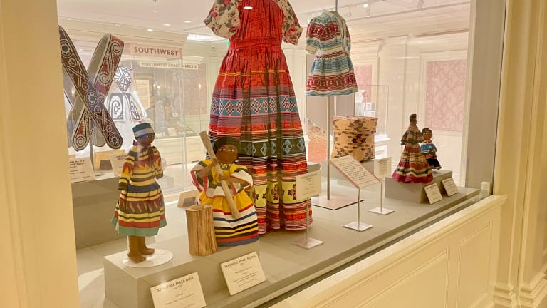 Epcot features Seminole artifacts on loan from tribe