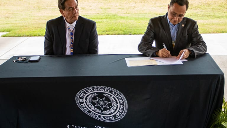Byrd named Cherokee Nation's Special Envoy for International Affairs