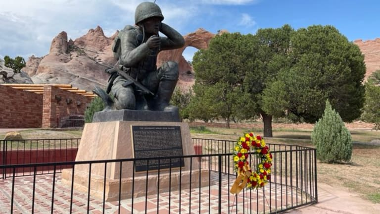 Navajo Nation honors Diné warriors and the importance of Diné Bizaad on Navajo Code Talker Day