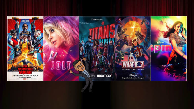 #NativeNerd: The Suicide Squad, Titans, Jolt, What If and Spin