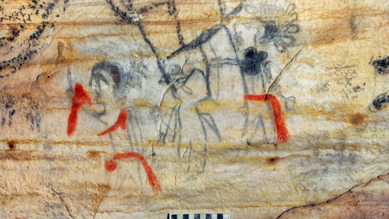 Cave with ancient Indigenous artwork sold