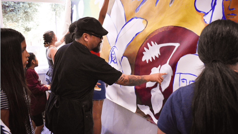 New University of Redlands campus mural highlights Native American culture