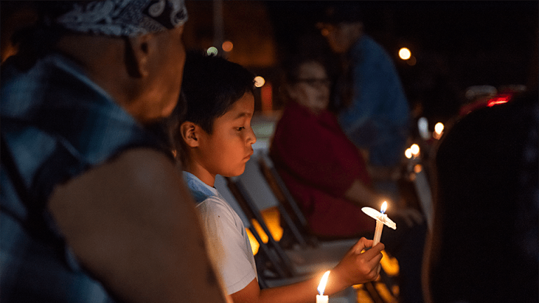 Navajo Nation candlelight vigil held for victims of murder