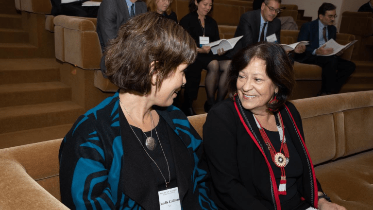 'Indigenizing research institutions': Two journalists honored by The American Academy