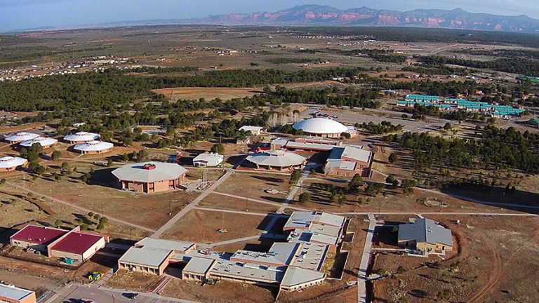 Diné College challenges students who enroll for the fall 2021 semester with free spring tuition