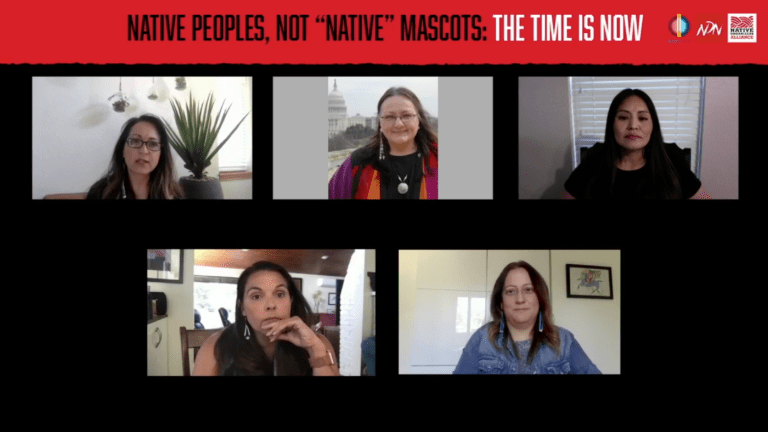 Town Hall explores mascots, Indigenous rights
