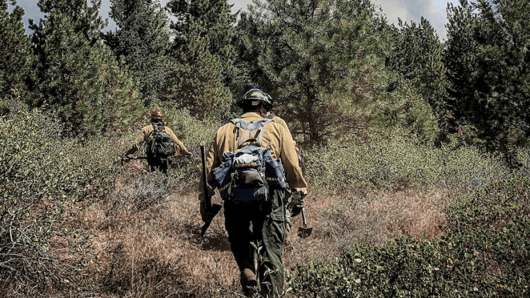 'Into the Fray' wildland firefighters exhibition opens June 24 at the Museum at Warm Springs