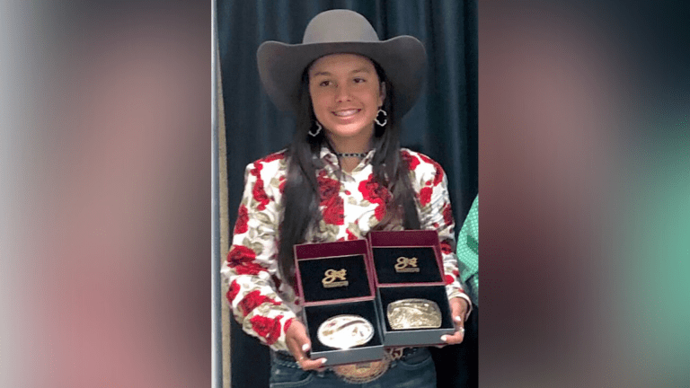 Barrel-racing cowgirl racking up victories for 7 years