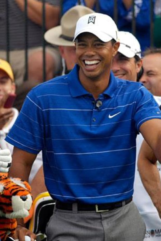 Notah Begay III and Tiger Woods
