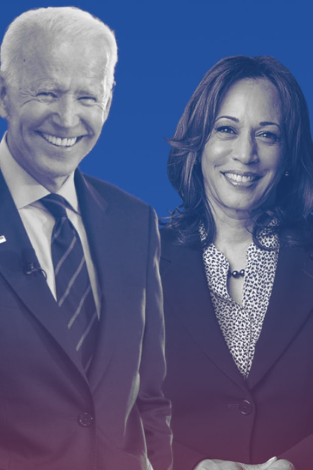 Pictured: President Joe Biden and Vice President Kamala D. Harris.