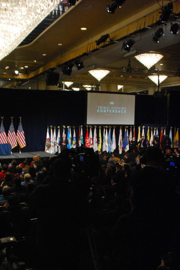 The White House Tribal Nations Conference in Washington, D.C. (Photo: Vincent Schilling)