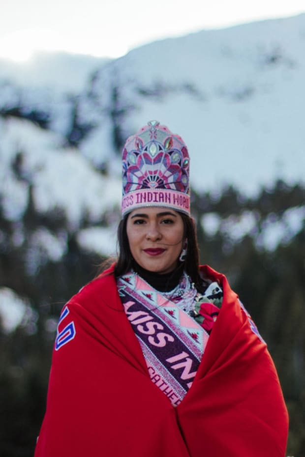 Miss Indian World Cheyenne Eete Kippenberger reigned an extra year after the lockdowns during the COVID-19 pandemic shut down many of the pageants. She won in 2019 and is set to step down on April 24, 2021. (Photo courtesy of Miss Indian World)