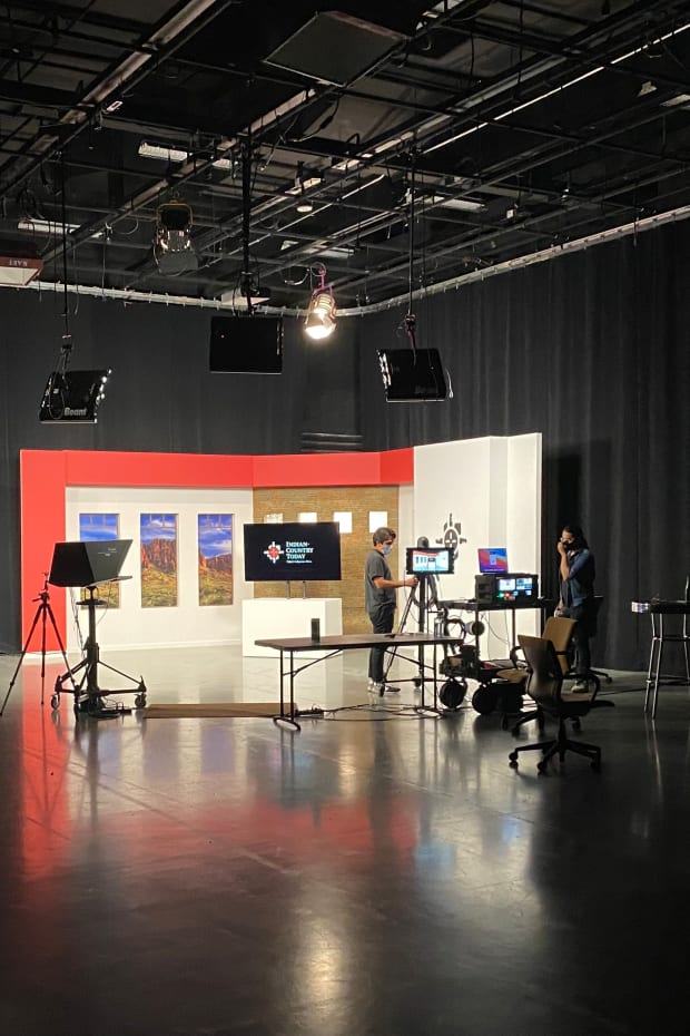 ICT is produced at Studio A at Arizona PBS and the Walter Cronkite School of Journalism and Mass Communication at Arizona State University. (ICT photo)