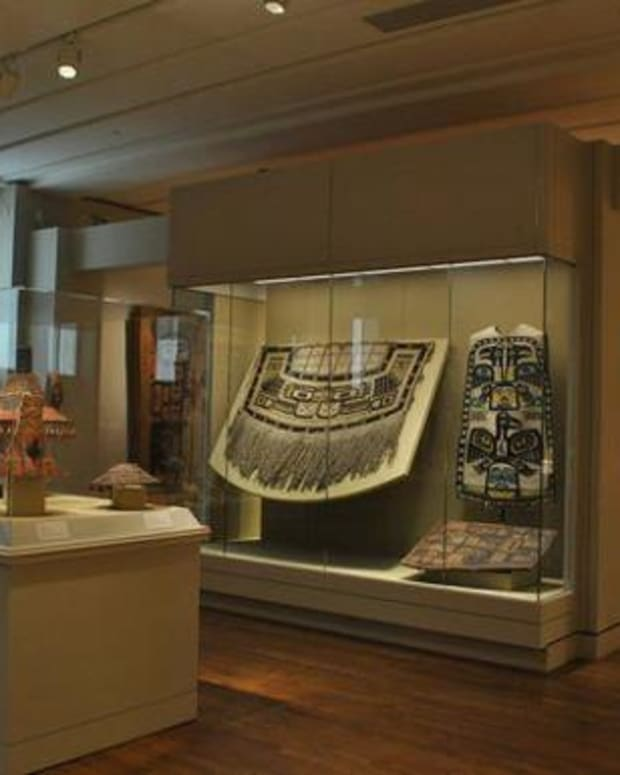 18 medicine bags from the Portland Art Museum's Native American collection are headed back to Montana. Image: Portland Art Museum