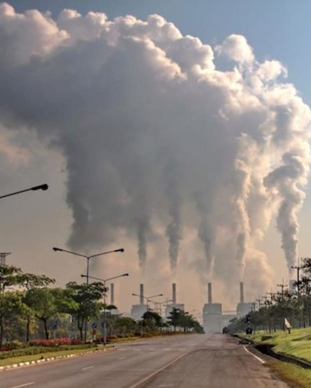 Coal plant emissions are just one source of greenhouse gases in the atmosphere that are contributing to global warming and climate change.