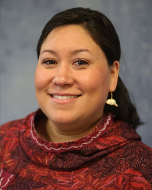 Dr. Pearl K. Brower is president of Iḷisaġvik College. is president of Iḷisaġvik College.
