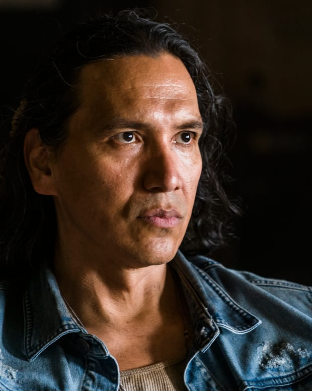 Michael Greyeyes as Qaletaqa Walker - Fear the Walking Dead _ Season 3, Episode 8.