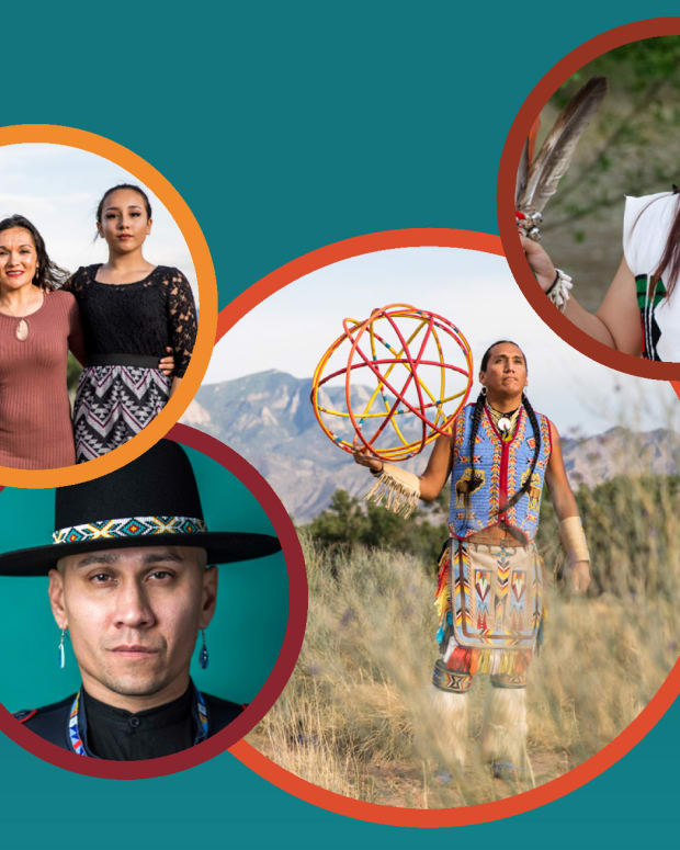 Pictured: 'Investing in Native Communities: Philanthropic Funding for Native American Communities and Causes' report cover image.