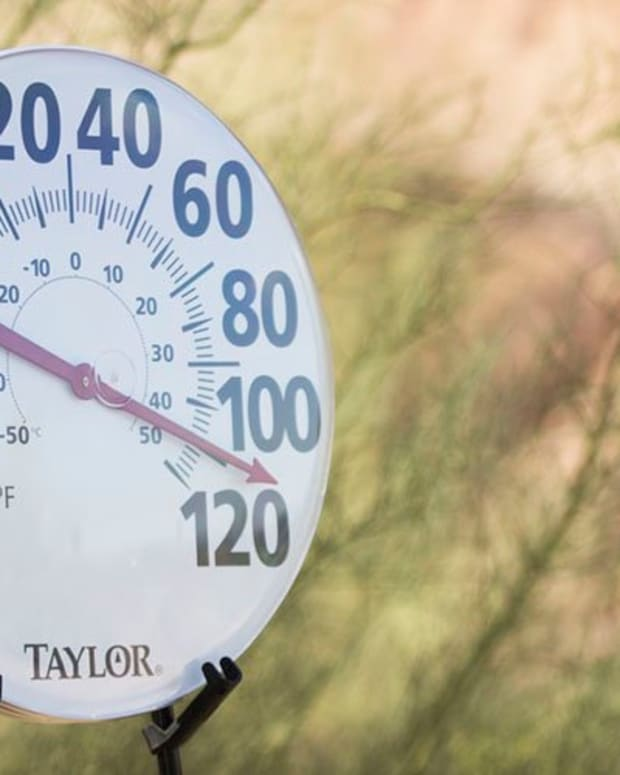 Maricopa County averages 110 days above 100 degrees Fahrenheit a year, and it recorded 119 heat-caused deaths in 2018, according to the Maricopa County Department of Public Health. (Photo by Greg Macelroy | Cronkite News)