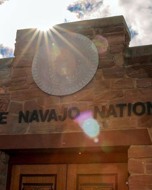 The Navajo Nation weighed several plans Thursday to spend the last $177 million in federal COVID-19 relief funds the tribe received – money that has to be spent by the end of the year or will be lost. (Photo by Chelsea Hofmann, Cronkite News)