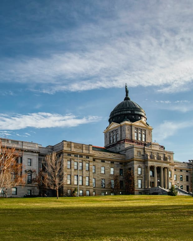 Pictured: Montana State Capitol Building in Helena.