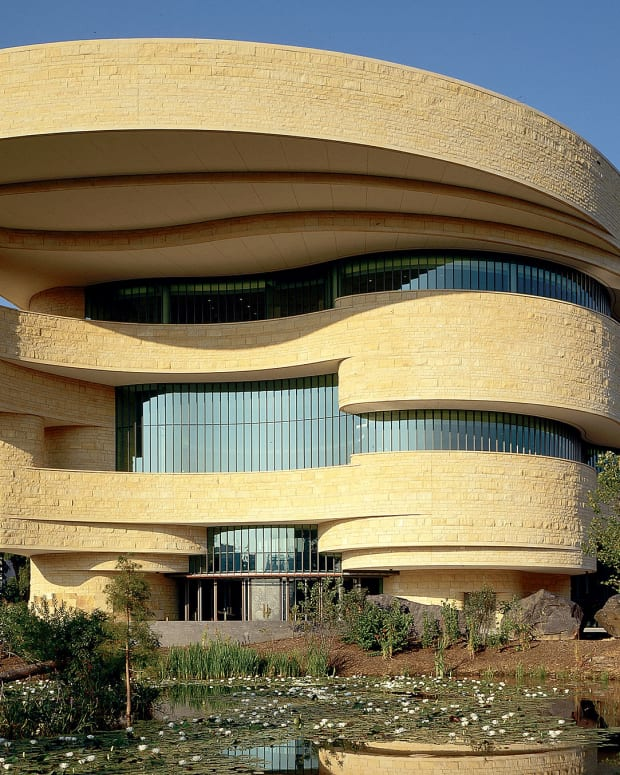 Pictured: The Smithsonian's National Museum of the American Indian in Washington, DC.
